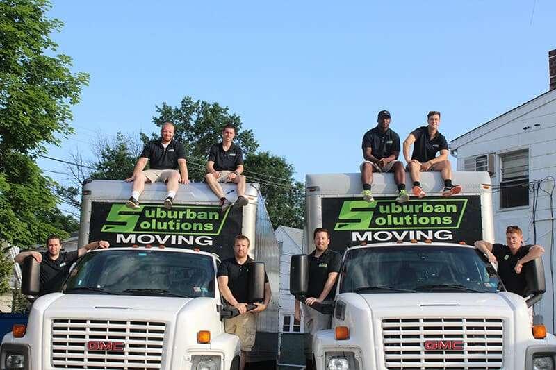 Suburban Solution's crew posing
