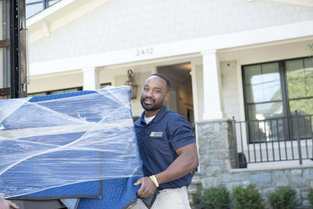 Suburban Solutions' friendly and uniformed team getting rid of your unnecessary couch