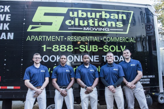 Suburban Solutions washington DC movers crew