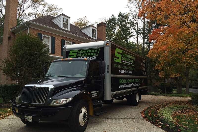 Suburban Solutions' truck Movers Alexandria, VA
