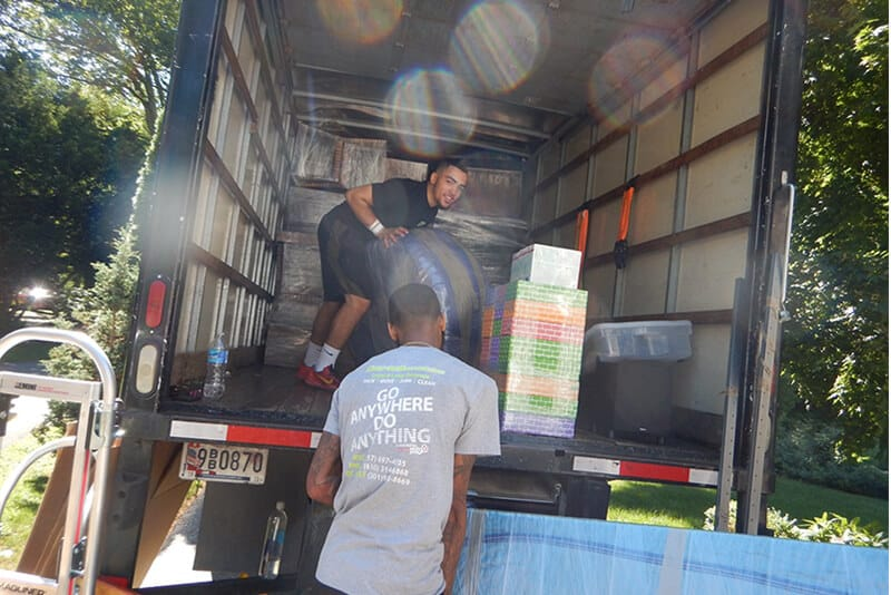 At Suburban Solutions Moving, our uniformed crew will wrap and protect all your belongings as though it was their mothers!