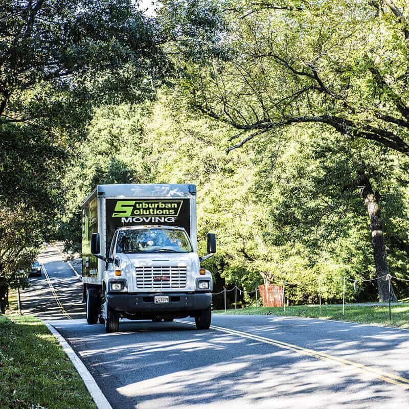 Suburban Solutions's truck for long distance moving