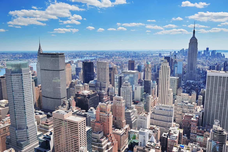 New York City Metro skyline