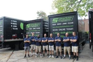 suburban solutions - our crew getting the trucks ready for the day, Best Movers in all of Philadelphia!