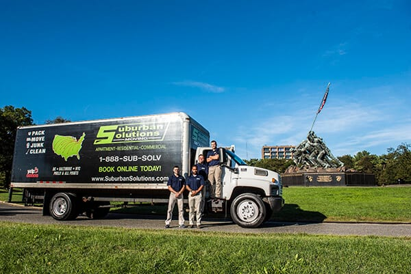 Suburban Solutions' D.C. moving crew