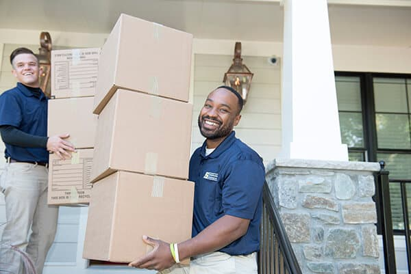 Suburban Solutions' junk removal crew - guys that know the sooner they clear out your junk, the sooner you'll feel better about your living space