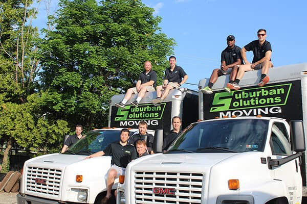 Suburban Solutions' crew prepared to help get your home or office moved in the fastest, safest, and friendliest way possible