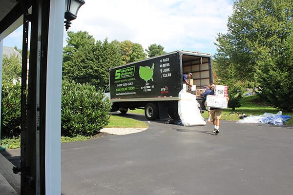 Suburban Solutions' crew helping you get settled at your home in no time with our moving-in services