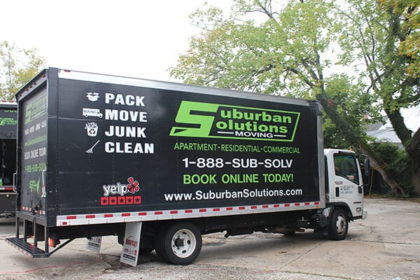 Suburban Solutions' most popular moving truck that can easily accommodate 2 to 3 of yours rooms