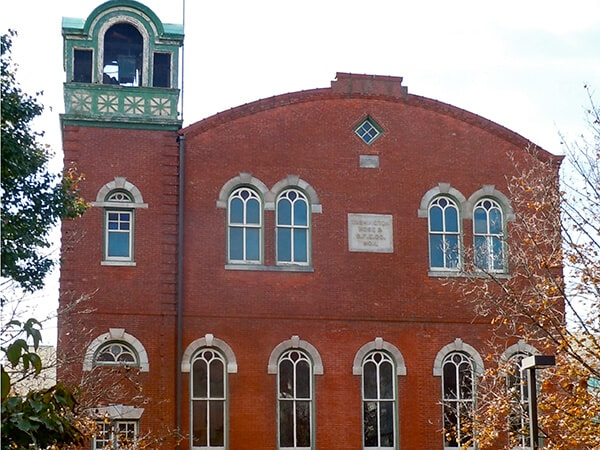 Washington Hose Company - a historic Conshohocken, PA fire station