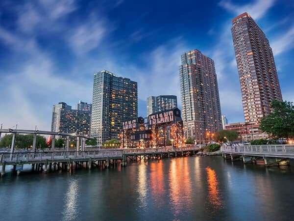 Long Island, NY skyline