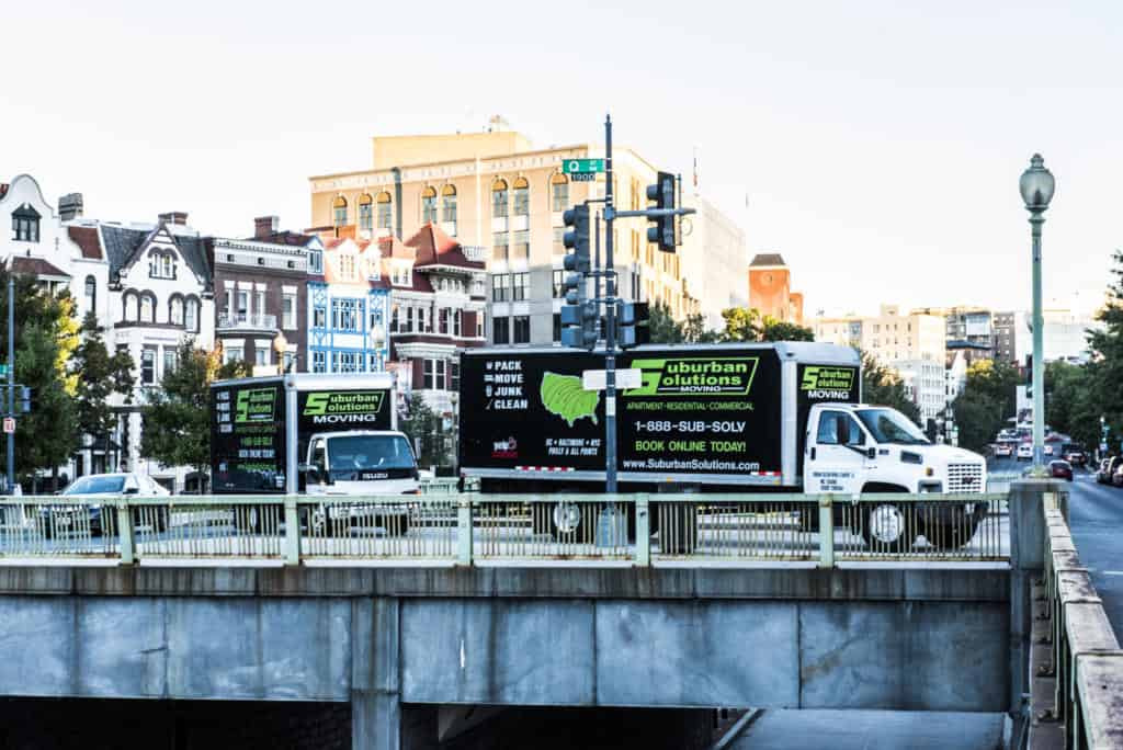 Suburban Solutions' trucks on the move