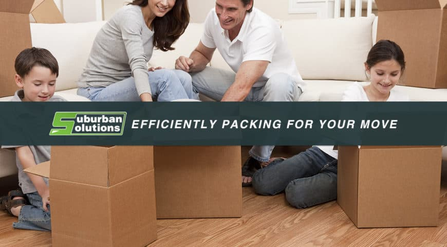 Efficiently Packing for Your Move – Part 1