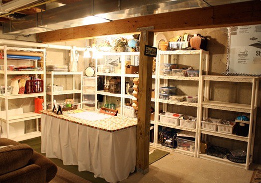 How to Organize Your Basement To Find Stuff