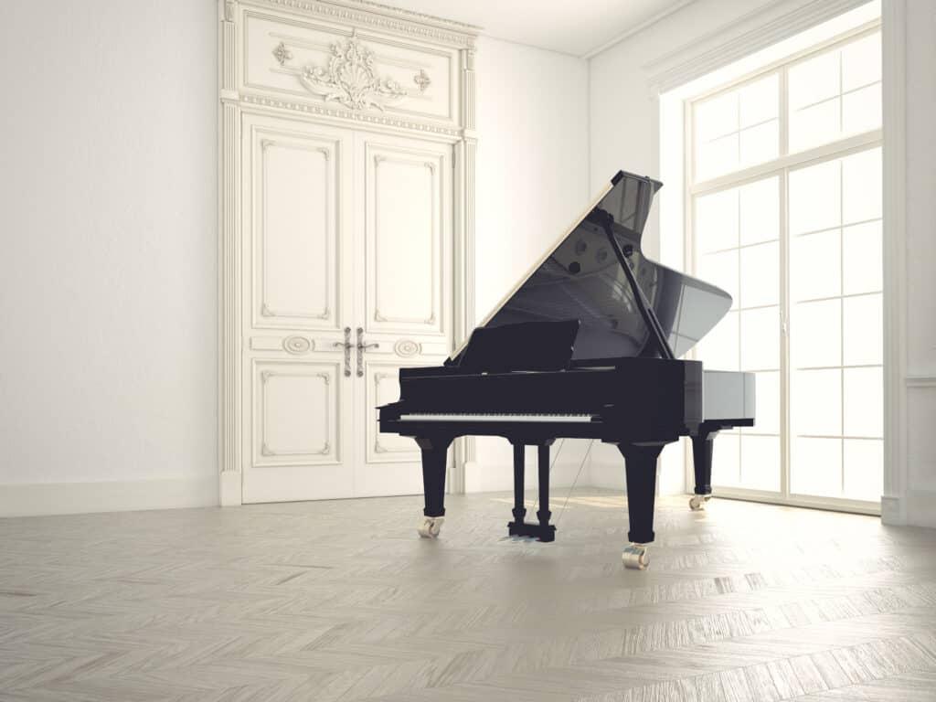 grand piano, baby grand piano
