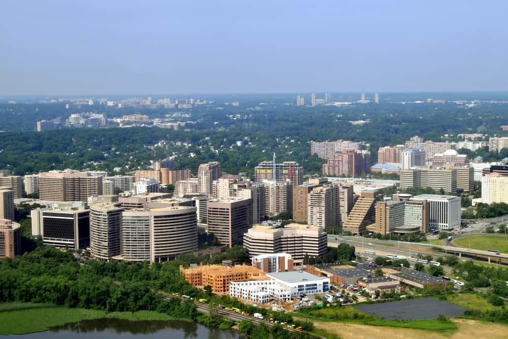Downtown Neighborhood of Arlington, VA