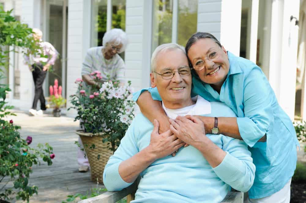 Active seniors in a Philadelphia 55+ Community