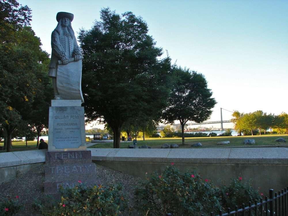 Penn Treaty Park in Fishtown