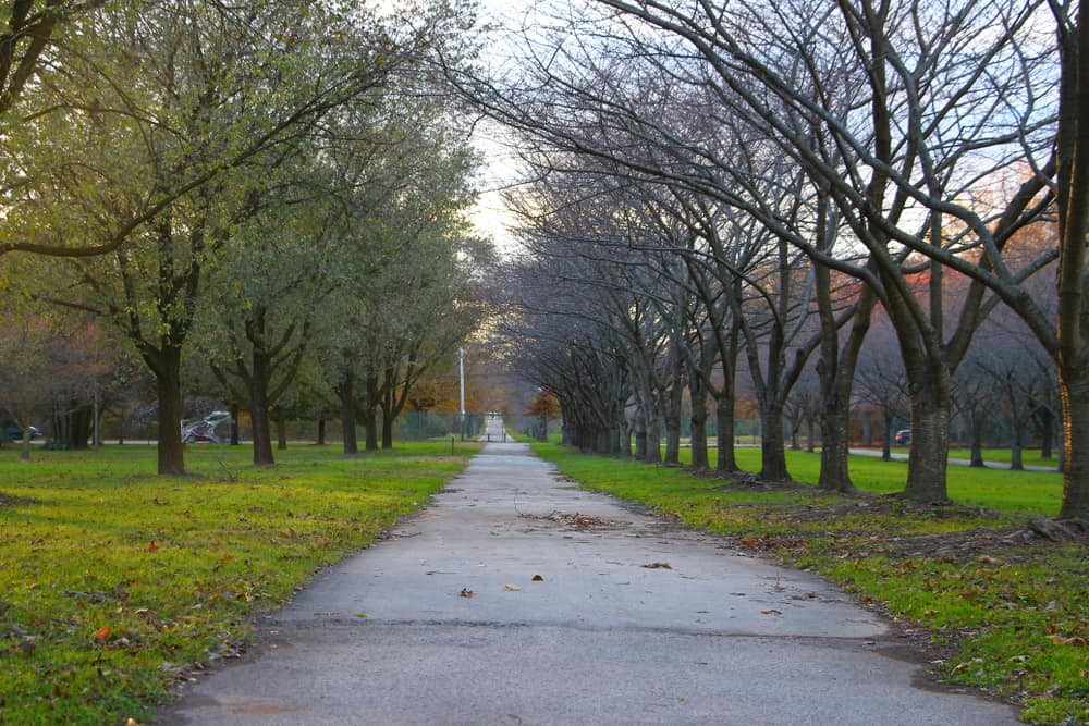 Local park for residents living in Fairmount, PA