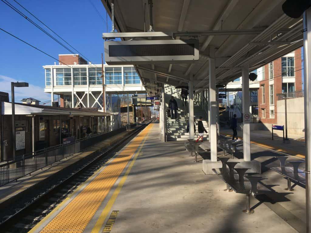 Paoli Station in Paoli, PA