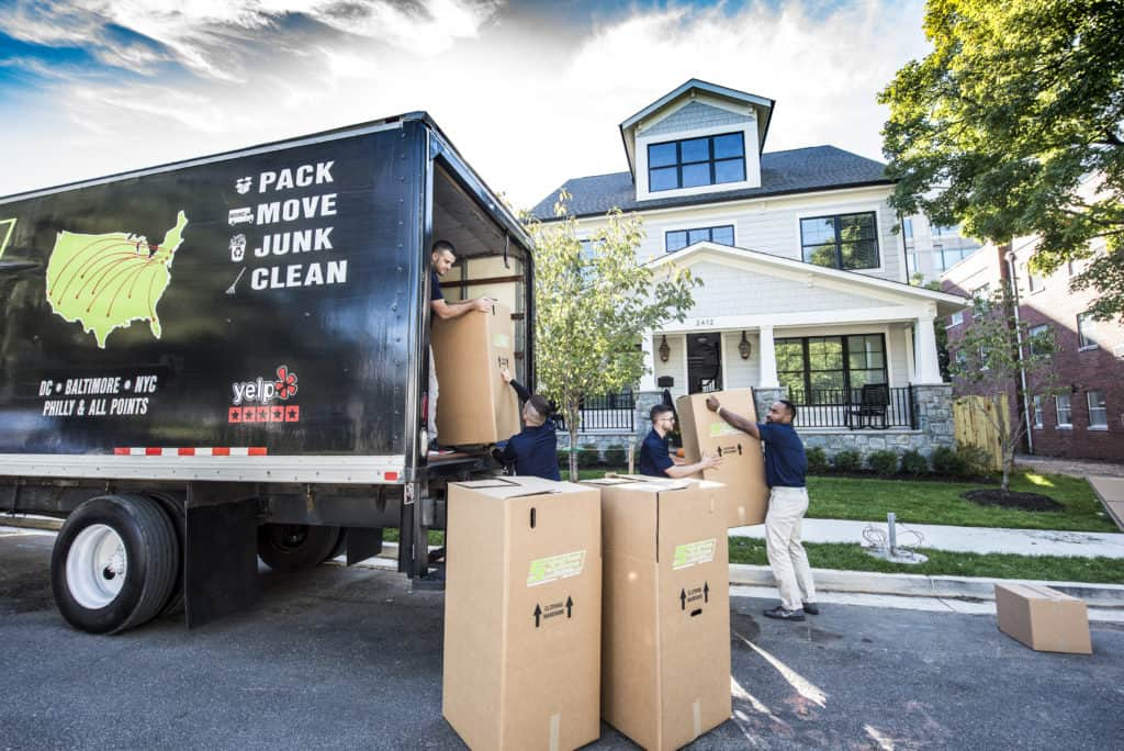 Suburban Solutions movers assisting with relocation